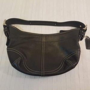 Coach Bags - EUC. All Leather Black Coach Hobo Bag E3S-9541